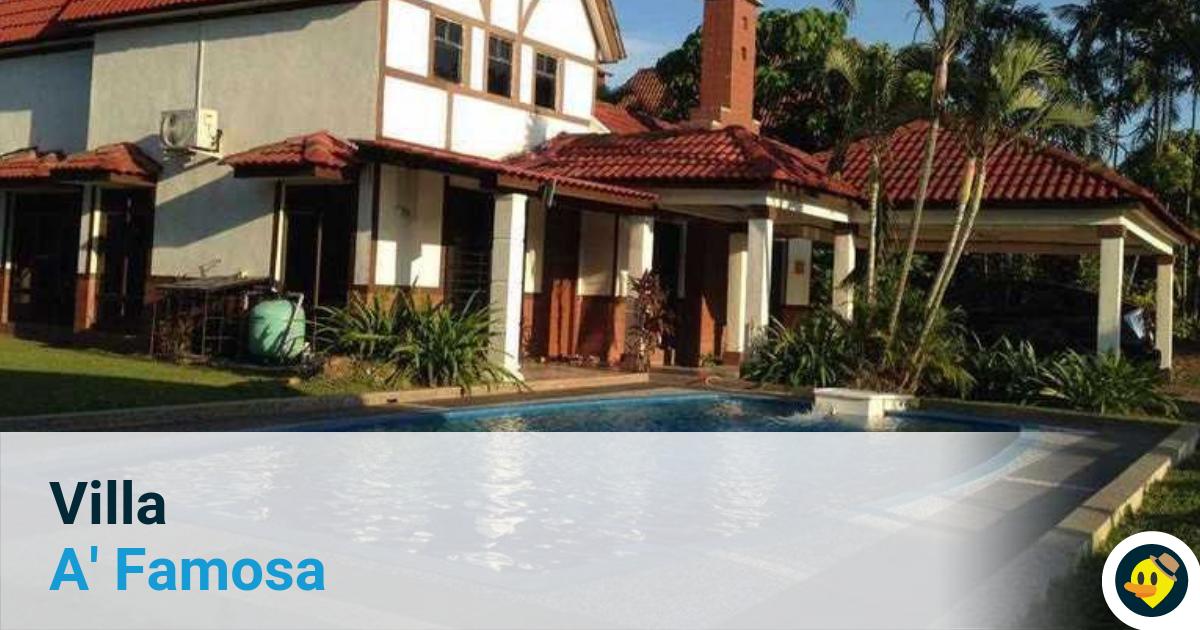 11 Villa A Famosa Beserta Kolam Renang Persendirian Featured Image