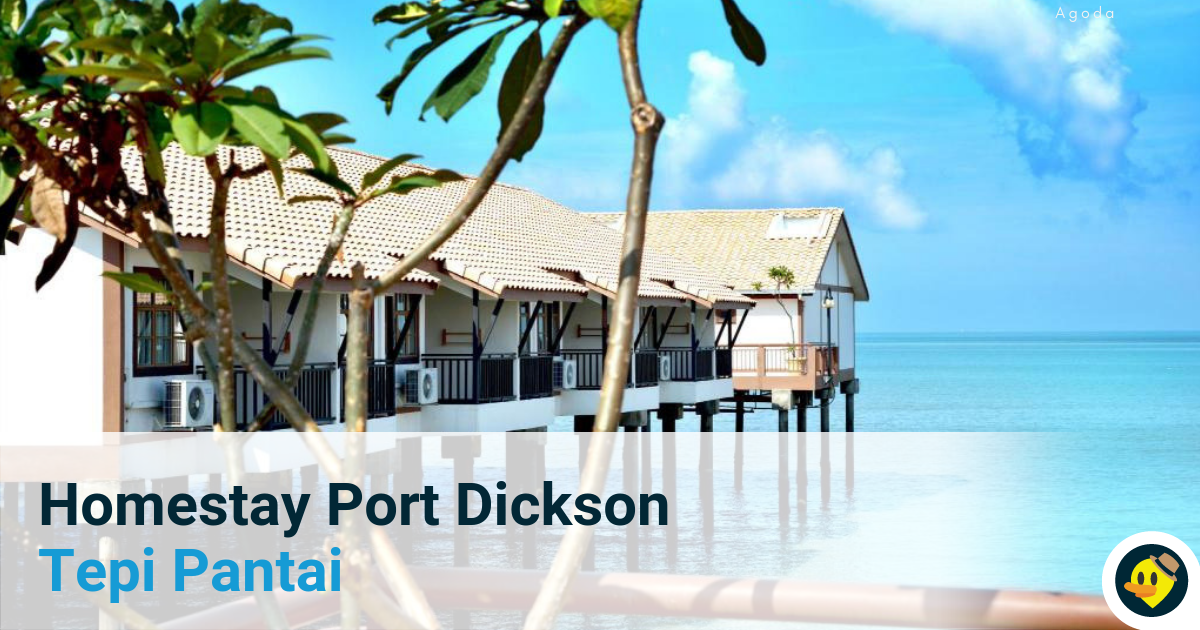 18 Homestay Port Dickson Tepi Pantai Featured Image