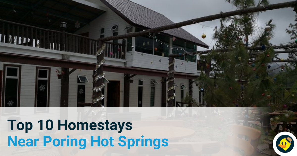 Top 10 Homestays Near Poring Hot Springs Featured Image