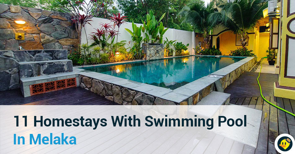 Featured image of 11 Homestays With Swimming Pool in Melaka